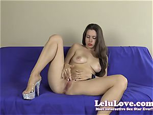 inexperienced striptease with lots of feet and toes closeups