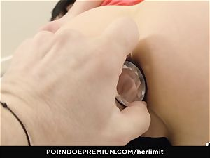 HER restrain - tough ass-fuck and face drill with Sasha Rose