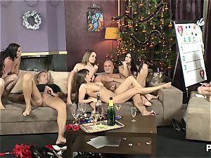 The romp Game before Christmas gig 3