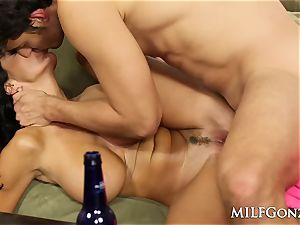 MILFGonzo Ava Adams bj's and plows her sonnies mate
