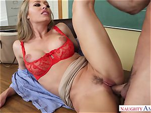 Nicole Aniston - My first-ever lecturer, who told me about hookup and took my trouser snake on the desk