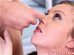 Maddy O'Reilly fucking a dick with her hatch