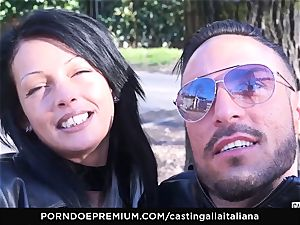 audition ALLA ITALIANA - insatiable lovemaking with local fledgling