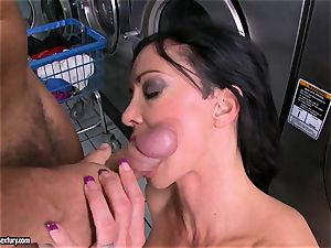 Rampant beans likes getting her jummy humid vagina packed with ginormous rigid boner