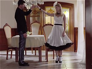 PINUP fuckfest - uber-cute Czech blondie luvs sensual drill