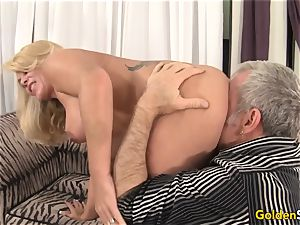 gorgeous and mature Crystal Taylor hardcore