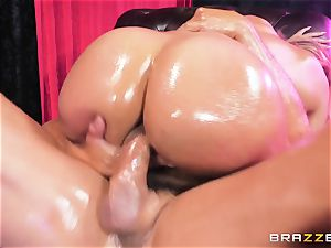 Oiley Mercedes Carrera porked massive time by immense beef whistle