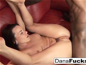 Dana gets caboose plumbed by a huge dark-hued schlong