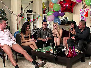 new Year's Eve fuck-fest party sequence two