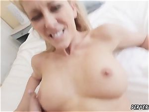 mother catch companion s daughter-in-law having hookup and join first-ever time Cherie Deville in