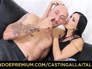 audition ALLA ITALIANA - messy newbie ass-fuck audition