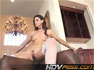 HDVPass bi-racial fuck-a-thon with India Summers