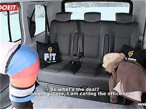 LETSDOEIT - Czech fuckslut Tricked and torn up By taxi Driver