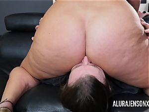 big-chested milf Alura Jenson has her humungous caboose adored