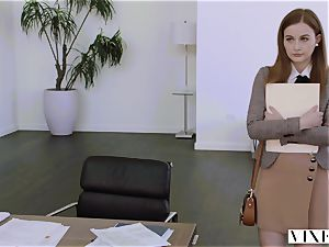 VIXEN Intern dominated By Her Father's business playmate