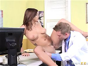 physician Keisha Grey smashes one of her wild super-hot playmates