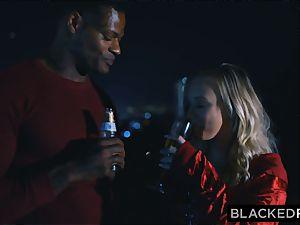 BLACKEDRAW boyfriend with cuckold wish shares his blondie gf