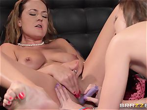 nanny Lily love gets porked by Elexis Monroe
