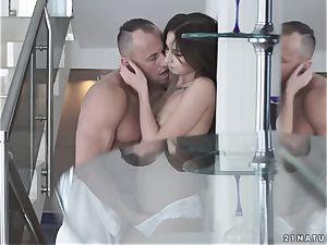 stunning sensuous pornography with cute Russian girl Selena Mur