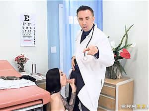 Marley Brinx gets her poon deeply investigated at the doctors