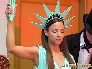 Dane Jones Amirah Adara Statue of Liberty costume play
