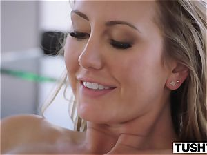 TUSHY Brett Rossi's first-ever exclusive anal!