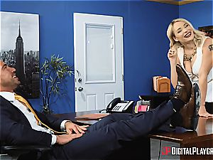 Johnny Castle uses his biggest asset to the fullest