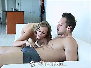 FantasyHD - Alexis Adams gets turned over and torn up
