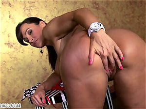 The finest milf pornography starlet with hefty jugs and elastic rump