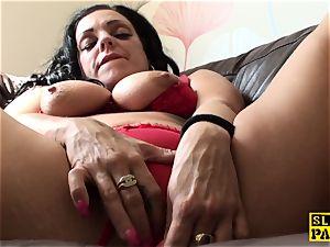 tugging uk crud frolicking her humid vag