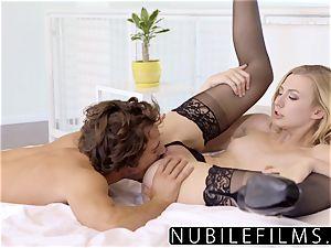 NubileFilms - crazy platinum-blonde Alexa grace powerful sex