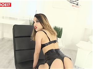 fantastic Latina gets hard-core assfuck sex from massive weenie dude