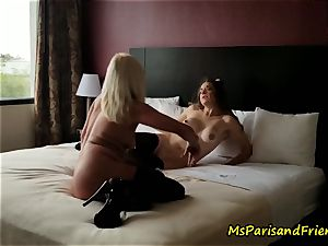 The motel apartment Strippers orgy with Ms Paris Rose