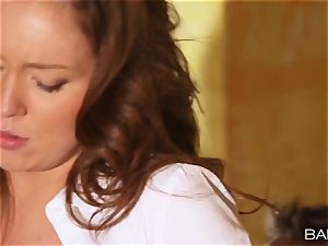 Maddy OReilly is nailed over the desk by the chief