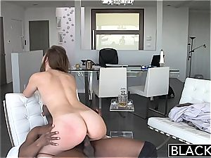 mouth-watering Jillian has always wanted to penetrate a enormous dark-hued manstick
