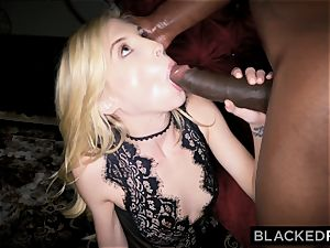 BLACKEDRAW lil' towheaded dominated by black boy