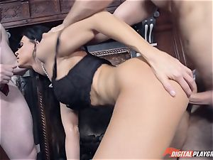 India Summer splashed wth two lots of jizm