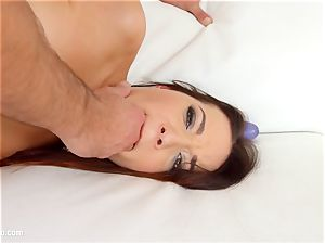 Roxy Dee in ass fucking orgy sequence by arse Traffic