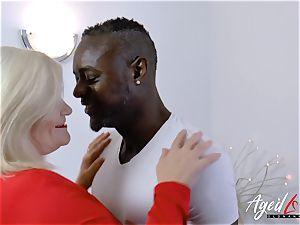 AgedLovE Lacey Starr bi-racial hardcore ass fucking