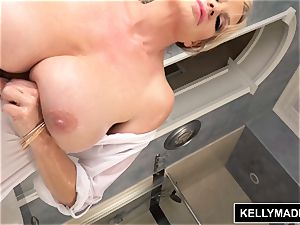 KELLY MADISON bathtub Time bra-stuffers