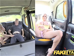 fake taxi large boobs light-haired Michelle Thorne