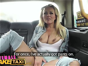 gal fake taxi - sizzling girl-on-girl pussy tonguing