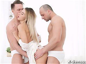 X-Sensual - Katrin Tequila - three way sheer pleasure