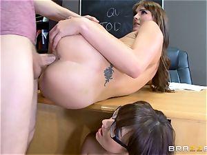 Bianca Breeze and Charlotte ORyan classroom three-way