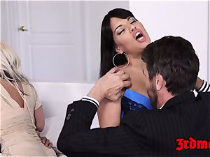 big-titted mummy foursome screwing until ejaculation