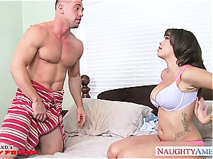 classy Cassidy Banks has good tits and plumbs like a professional