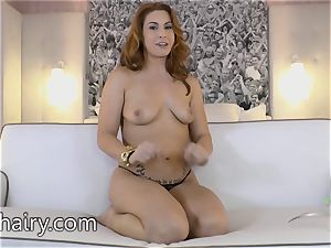 Edyn Blair is a steamy fur covered naked female who wants you