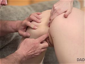 DADDY4K. fuck-fest of father and young woman completes with unexpected creampie