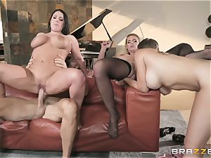 Phoenix Marie and her damsels frolicking