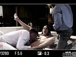 unspoiled TABOO stunner Tricked Into revenge three-way with Strangers
